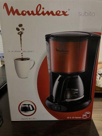Кофеварка Moulinex новый
