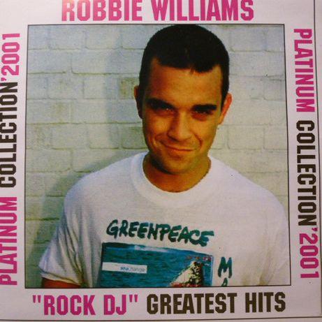 "CD. ROBBIE WILLIAMS. Platinum Collection'2001 - ""Rock DJ"" Greatest Hit"