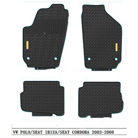 4 бр. гумени стелки за VW POLO 2003-2008, SEAT IBIZA & CORDOBA ФВ ПОЛО