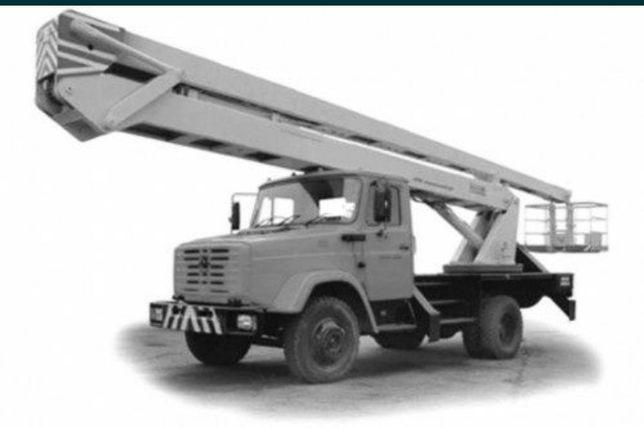 Услуги АГП, автогидроподъемника, гидровышки