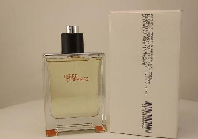 Элитный аромат мужской Hermes TERRE D`HERMES тестер-оригинал
