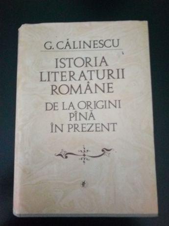 istoria literaturii romane de Calinescu