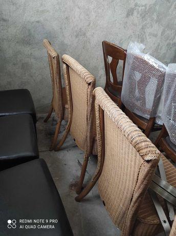 4 бр ратанови стола