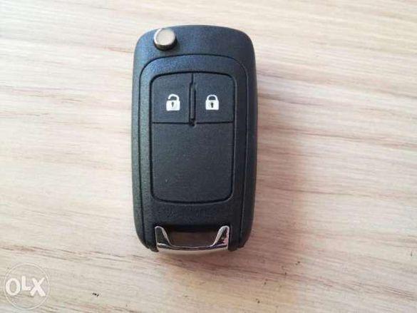 Кутийка за ключ за Opel Astra J,Insignia,Zafira- 2 бутона