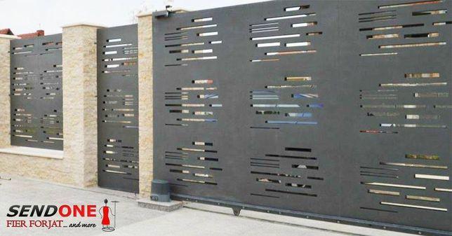 modele tabla decupata pentru porti sau garduri