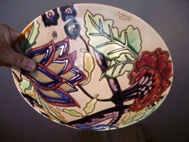 lustra plafon-maxonade,paris-art deco ,sticla emaliata