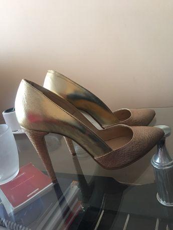 Pantofi Stiletto piele naturală mar.40