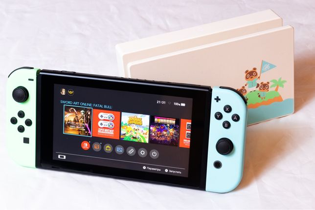 "Nintendo Switch ""Animal Crossing Edition"""