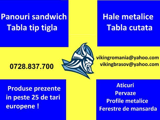Panouri sandwich- minim 100 mp