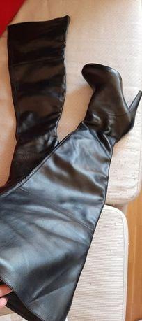 Cizme lungi peste genunchi,marca Collin Stuart, piele de calitate,39.5