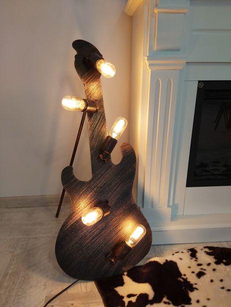 Chitara electrica lampa iluminat model unicat