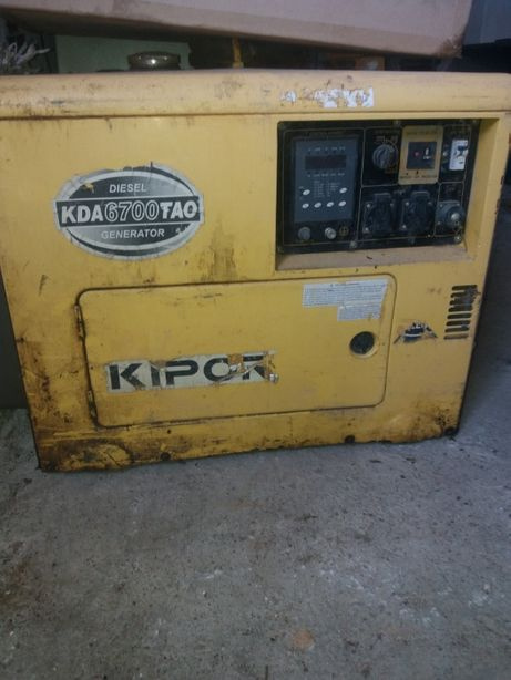 OCAZIE!! Generator diesel KIPOR KDA 6700