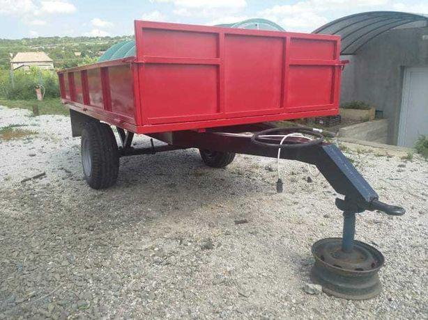 Remorca dupa tractor