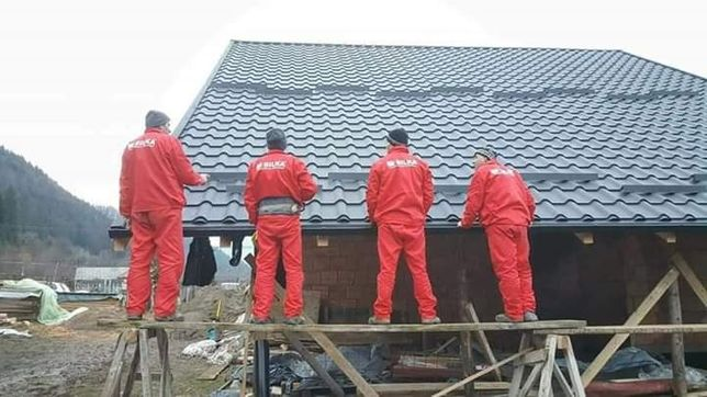 Montaj acoperisuri hidroizolatii si reparatii de urgenta