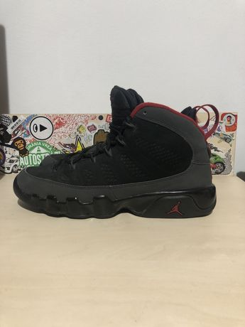 Nike jordan retro 9 charcoal 2010