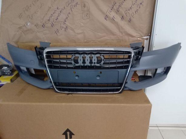 Bara fata + grila radiator Audi A4 B8 2007 2008 2009 2010 2011