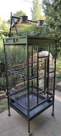 Клетка вольер для больших и средних попугаев