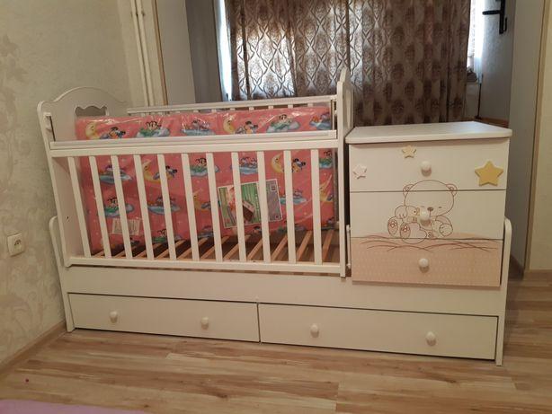 Детски манеж кровать