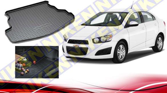 Стелка за багажник Chevrolet AVEO (2013 ..)Стелка по модел