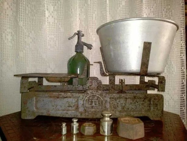Cantar vintage de aprozar Balanta Sibiu