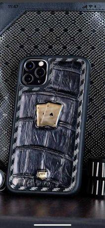 Husa din aur 24k si argint iphone