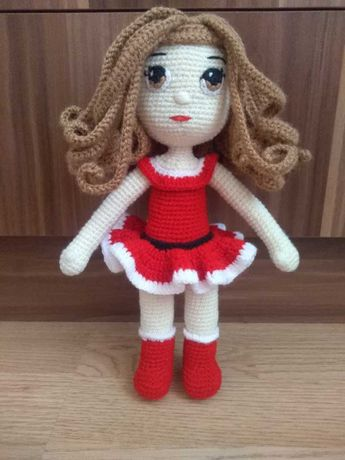 Плетени играчки - кукла