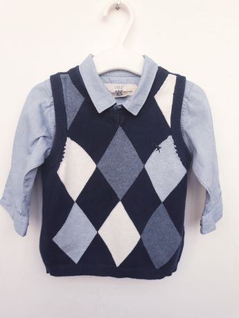 Camasa si vesta H&M