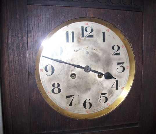 Стенен часовник gustav becker 1930