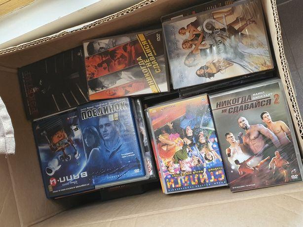 CD диски с фильмами (лицензионные)
