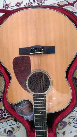 12 струнный Fender CJ 290 CSE jumbo