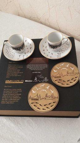 Кофейная пара две чашки два блюдца(Турция)
