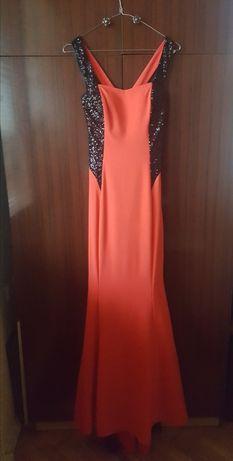 Бална официална дълга рокля