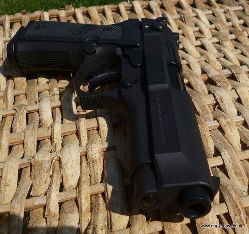 Pistol PUTERNIC+Bonus(1500Bile+5CapsuleCO2)NOU Airsoft cu AerComprimat