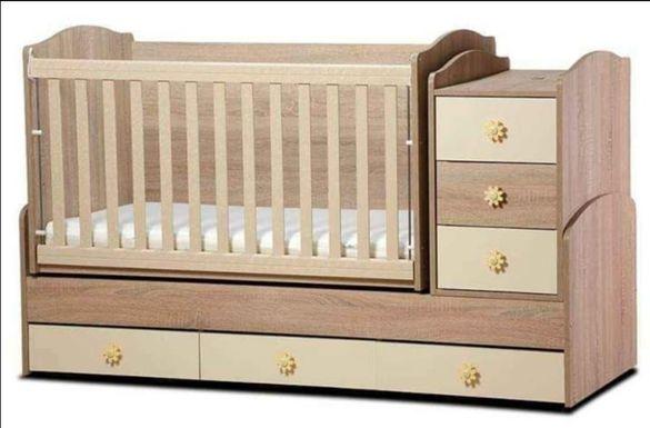Детско легло трансформиращо се в юношеско