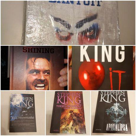 Orasul Bantuit, La asfintit, Blaze, Apocalipsa de Stephen King