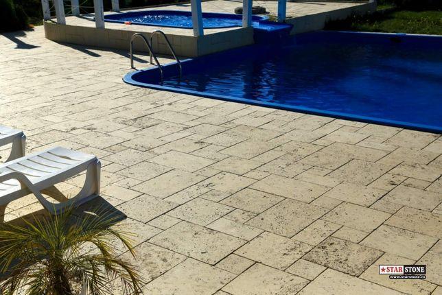 Pavaj rezidential Arvore 3 cm Borduri de piscina semirotunde