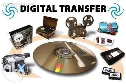 Transfer imagine de pe casete video pe dvd