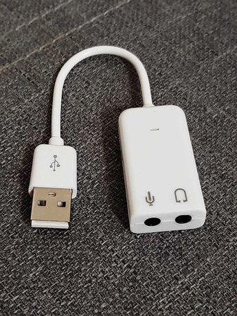 Внешняя звуковая USB карта. Новая!
