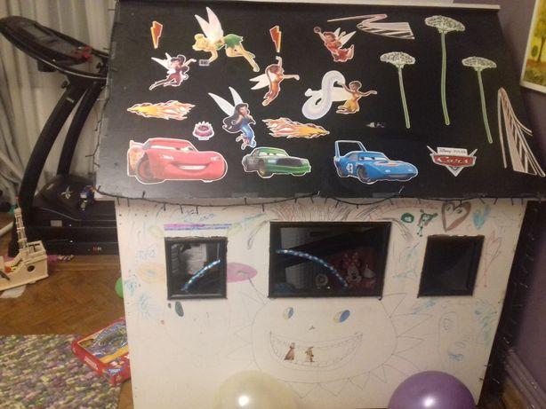Căsuța casa copii loc joaca lemn pal melaminat 150 cm ranch smoby
