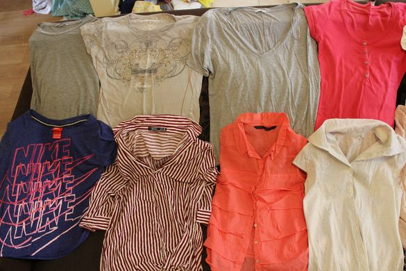 88лв. за 66 броя дамски дрехи Benetton,Nike,Gap,Zara, US Polo и др.