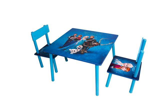 Детский столик с двумя стульями для мальчиков и девочек