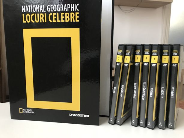 DeAgostini Cd-uri si reviste National Geographic