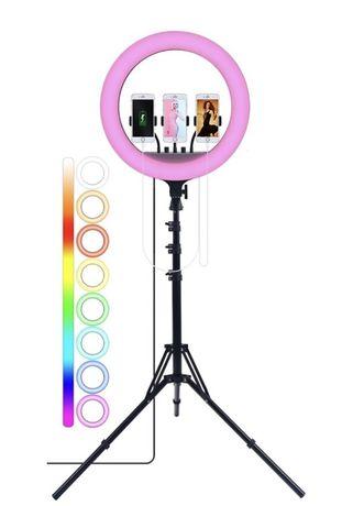 Новая цветная кольцевая лампа