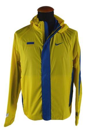 Geaca Vintage Nike Marimea S Ucraina Alergare Fotbal Galbena V4