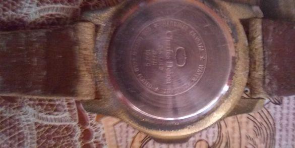 Часовник Charles Delon запазен с каишка и добро състояние