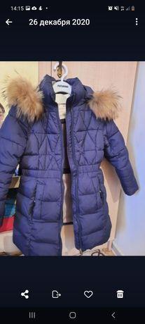 Зимняя куртка 6-7 лет