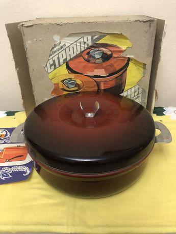 Сковорода-жаровня с антипригарным покрытием(посуда СССР)