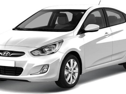 Решетка/капот/бампер/крыло/усилитель на Hyundai Accent 12-