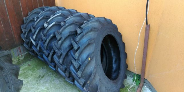 12.4-24 cauciucuri doar noi cu 12 pliuri agricole de tractor fata