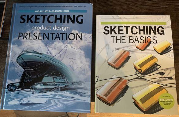 Книги за скициране и продуктов дизайн